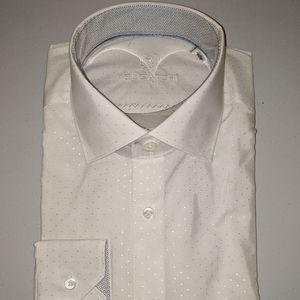 Bugatchi Uomo long sleeve dress shirt shaped fit
